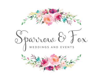 Sparrow & Fox - Weddings and Events